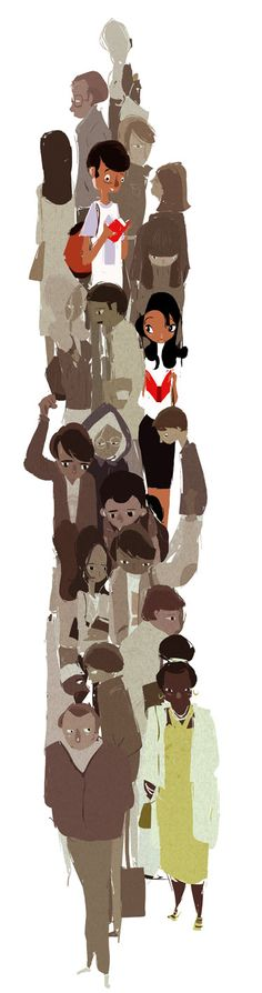"""Crowded"" by Pascal Campion"