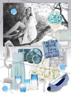 Mood board: Something blue - Mood boards - YouAndYourWedding