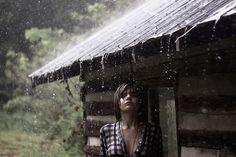mtn. cabin rain...love it!!