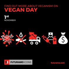 Find out more about veganism on Vegan Day! All #icons used in the series are available in our App. Imagine what YOU could create with them! Check out our FUTURAMO ICONS – a perfect tool for designers & developers on futuramo.com  icondesign  #icons  #iconsystem  #pixel #pixelperfect  #flatdesign  #ux  #ui  #uidesign  #design #developer  #webdesign  #app  #appdesign #graphicdesign