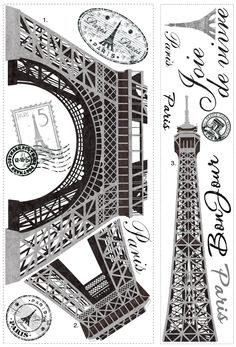 These giant wall decals will bring the famous landmark right to you. Application is easy: just peel each pre-cut wall sticker from the liner and smooth it on the wall. You can remove and reposition ea