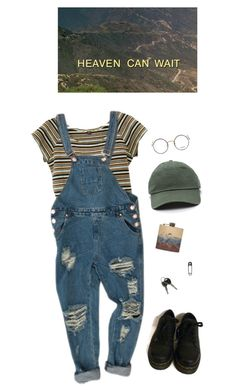 """patience"" by paper-freckles ❤ liked on Polyvore featuring Dr. Martens and Moscot"