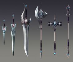 Weapon Designs - Game: Aion Kinah: http://www.igvault.it/aion/kinah/aion_it.html?a_aid=yixiu&a_bid=3704aa39