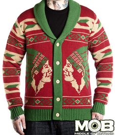 Native American Tattoo Knit Cardigan – Middle of Beyond