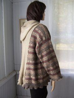 Reconstructed Lagenlook Vintage Hoodie by SWEETBEARIESVINTAGE, $72.00