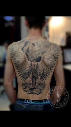 Angel back piece