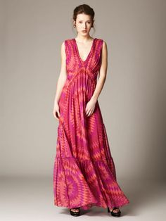 Love the maxi dress for Spring. Matthew Williamson is my fave pick!