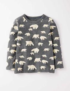 Printed T-shirt 21978 Long Sleeved Tops at Boden