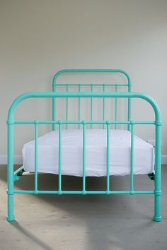 say hello to a vintage inspired bedroom ~ if u cant find one at a resale shop, you can always buy this Miller bed!