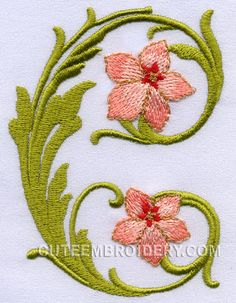 Grand Sewing Embroidery Designs At Home Ideas. Beauteous Finished Sewing Embroidery Designs At Home Ideas. Sewing Machine Embroidery, Cute Embroidery, Embroidery Monogram, Free Machine Embroidery Designs, Embroidery Fabric, Cross Stitch Embroidery, Embroidery Patterns, Jacobean Embroidery, Embroidery Techniques
