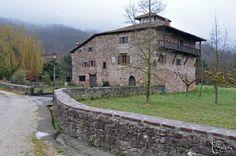 Edificios singulares en el Valle del Baztan en Navarra
