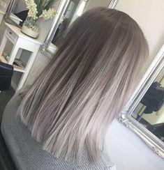 Пепельный цвет волос - ash hair color 2018