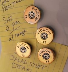 Shotgun Shell Crafts | Shotgun Shell Magnets | Cool Crafts