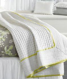 Dutta Stitch Quilt - Country Curtains®