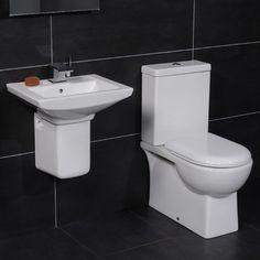 �159.95 Modena 50 Semi Pedestal Bathroom Suite