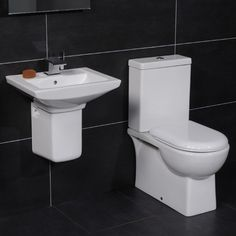 �159.95 Modena 50 Semi Pedestal Bathroom Suite