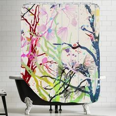 Americanflat Urban Road Untitled 13 Shower Curtain