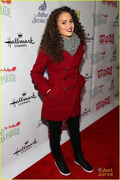 Madison Pettis: Hollywood Christmas Parade 2013