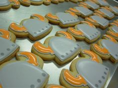 "Dessert Item - Ordered these yummy viking cookies with ""uff-dah!"" on them!!"