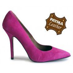 Stiletto ante fucsia 49,90€  www.calzadospayma.com