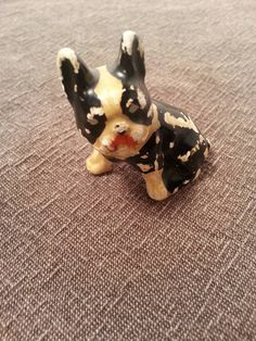 Check out this item in my Etsy shop https://www.etsy.com/listing/261747040/vintage-chalkware-bostonfrenchie-dog