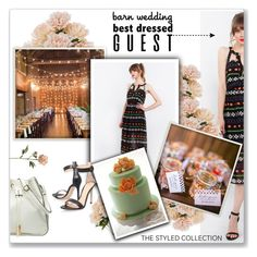 """Best Dressed Guest: Barn Wedding"" by kellylynne68 ❤ liked on Polyvore featuring Gianvito Rossi and thestyledcollection"