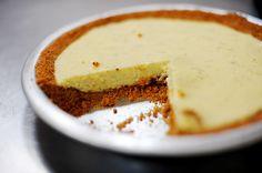 Key Lime pie (using regular limes)