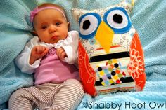 cool little owl pillow