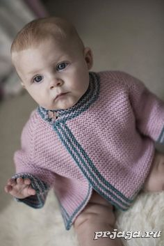 Ravelry: Garter Stitch Cardigan pattern by Pixiepurls Knitting Blogs, Knitting For Kids, Baby Knitting Patterns, Baby Patterns, Baby Pullover, Baby Cardigan, Big Knit Blanket, Big Knits, Baby Coat
