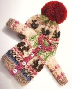jiajiadoll hand knitting-coloured squirrel knitted sweater lati yellow pukifee irrealdoll