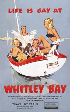 quite the tourist attraction it was back in these days, Whitley Bay ...: https://www.pinterest.com/nclalumni/i-3-newcastle