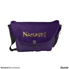 Namasté Messenger Bag