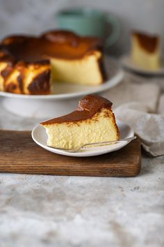 The famous Basque burnt cheesecake recipe with metric measurements and adjusted cooking temperatures. The best cheesecake on the planet #recipes #baking #cheesecake #Basque