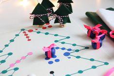 Ein selbstgemachtes Brettspiel für die Weihnachtszeit {DIY hoch 3 Weihnachten} - Binedoro Board Games, Presents For Mom