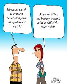MacMost Cartoon: My Smart Watch