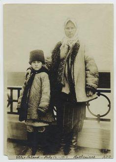 Ruthenians, Ellis Island, July 12, 1913. My great grandfather identified himself as Ruthenian.