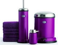 Read - Vipp Limited Edition Purple Cut Trash Collection on Luxurylaunches Purple Home, Purple Lilac, Shades Of Purple, Deep Purple, Pink, 50 Shades, Magenta, Purple Bathroom Accessories, Purple Bathrooms