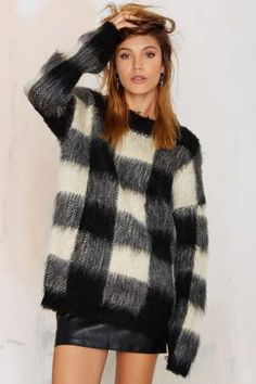 Just Female Knitty Griddy Sweater   Shop Clothes at Nasty Gal!
