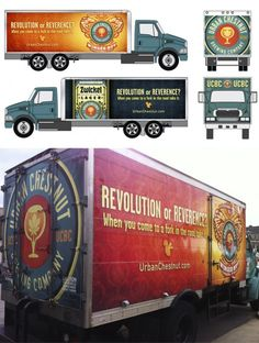 Urban Chestnut Brewing Co. Truck Wraps