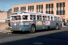Gm Old Style Model 5016 NJ transit (Public Service) Service Bus, Public Service, Retro Bus, Busses, New Jersey, Vintage Cars, Transportation, The Past, Nyc