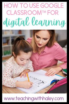 Using Google Classroom™ for remote & digital learning by Haley O'Connor. Here we are and even Kindergarteners are learning to use Google™ and Google Classroom™! Unfortunately, so many teachers are asked to use these tools without much help. I want to make sure I'm helping you navigate these new tools. As distant learning is becoming the new normal and with help from my favorite teacher, I go through step by step how to use Google Classroom™ with a free Google™ account. Learn more here.