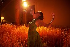 I love how the light hits the reeds & how the woman is barely lit.