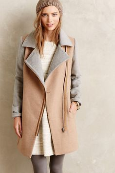 the perfect neutral coat - from anthropologie