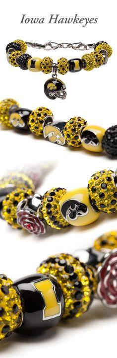 University of Iowa | Iowa Hawkeyes jewelry.  www.StoneArmory.com