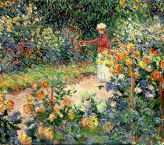 Monet's Garden at Gi