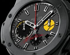 """Hublot Nastie Bang — inspired by a great forehand. Romanian Ilie Nastase (aka """"Nastie"""") is one of the world's all-time tennis greats."""