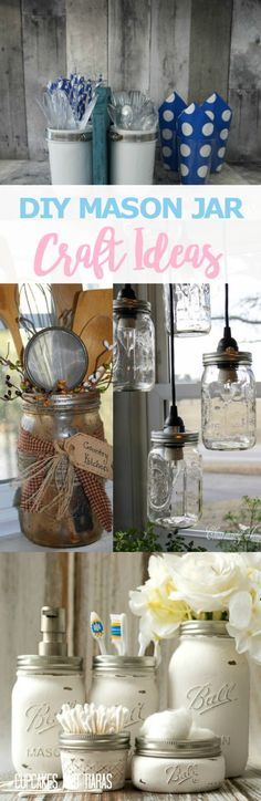 DIY MASON JAR CRAFT