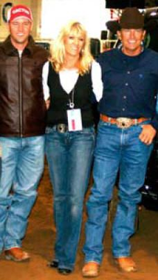Bubba, Norma, George. Such a beautiful Texan family