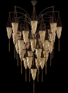 Fortuny lighting online shop Glass Cesendello suspended composition, Lighting…