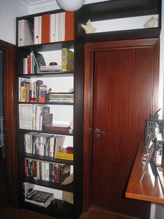 Over-the-door bookshelf (IKEA hack)